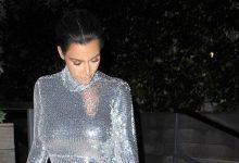 Kim Kardashian ve kızının dikkat çeken  stili