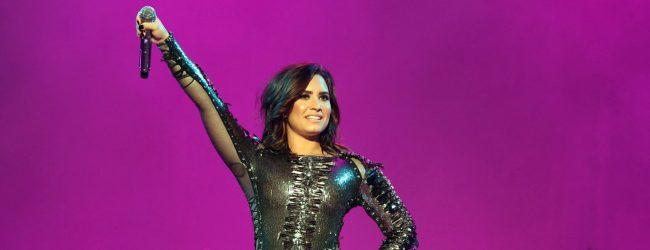 Demi Lovato, Expo 2016'yı salladı