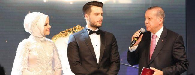 Cumhurbaşkanı Erdoğan nikah şahidi