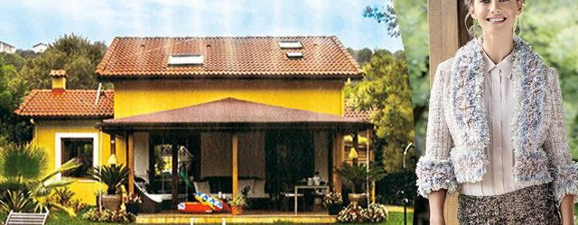 İşte Tuba Ünsal'ın muhteşem evi!