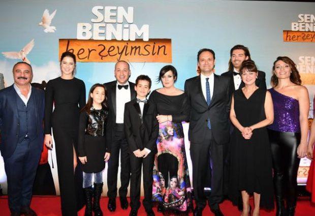 Çevik ailesi 'Sen Benim HerŞeyimsin'de tam kadro yer aldı