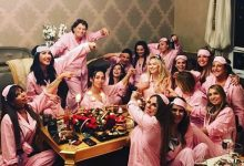 Pijamalı doğum günü partisi