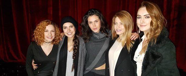 Kızlar Serenay için toplandı