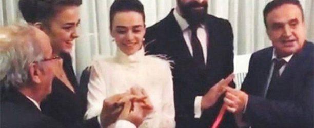 Hande Soral ve İsmail Demirci nişanlandı