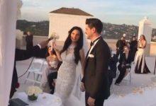 Tolgahan Sayışman ve Almeda Abazi evlendi