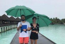 Maldivler'de aşk tatili