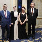 Mustafa-Emine Barutçuoğlu, Damat Bey'in ağabeyi Rıfat Ulus ve Damat Bey'in ablası Şahender Ulus Dalmış