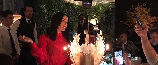 Gülşen'e sürpriz doğum günü kutlaması!