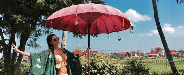 Ece Begüm Yücetan, Bali'de tatilde!