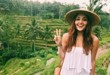 Hande Erçel'den Bali'ye moral turu!