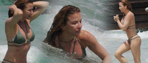 Ivana Sert tatil sezonunu açtı