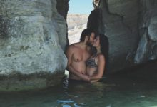 Tatilde aşk tazelediler