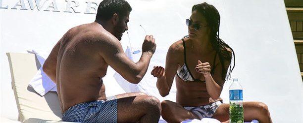 Ebru Şallı yeni sevgilisiyle aşk tatilinde!