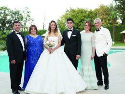 Burcu Bağcı ile Canberk Tuncer'in renkli düğünü