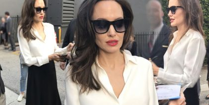 Siyah beyaz Angelina!