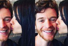 Adriana Lima'dan Metin Hara'ya aşk öpücüğü