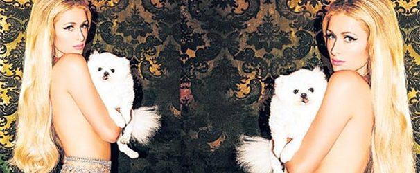 Paris Hilton'dan üstsüz tanıtım