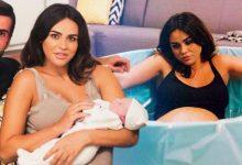 Zeynep Sever doğum fotoğrafını paylaştı