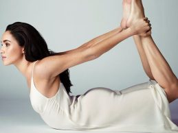 Yeni prenses Meghan Markle yoga ile gündemde