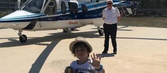 'Anne babam helikopterini mi değiştirdi'