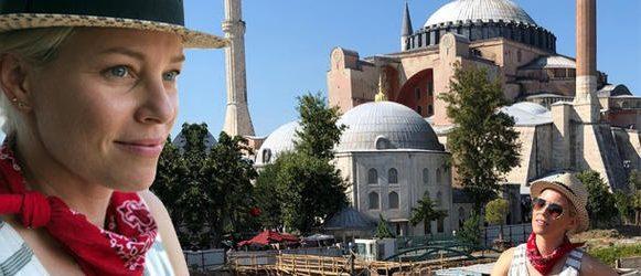 Dünyaca ünlü yıldız İstanbul'da