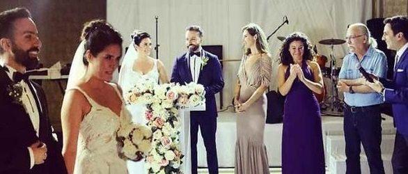Oyuncu çift evlendi…