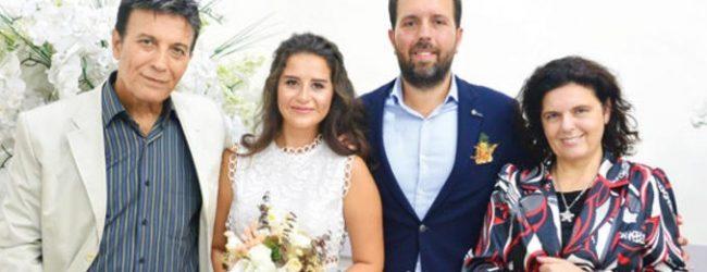 Oğlunu evlendirdi