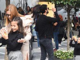 Sevgilisini İstanbul'la tanıştırdı