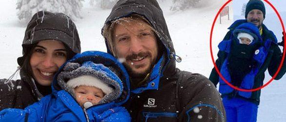 'Üç aylık çocuk bu kadar riske atılır mı?' eleştirilerine ünlü çiften cevap geldi