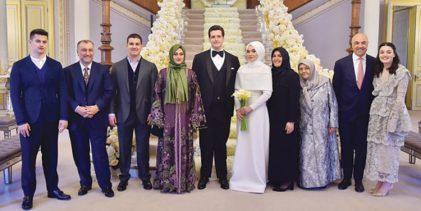 Nikâh İstanbul'da düğün Abu Dabi'de