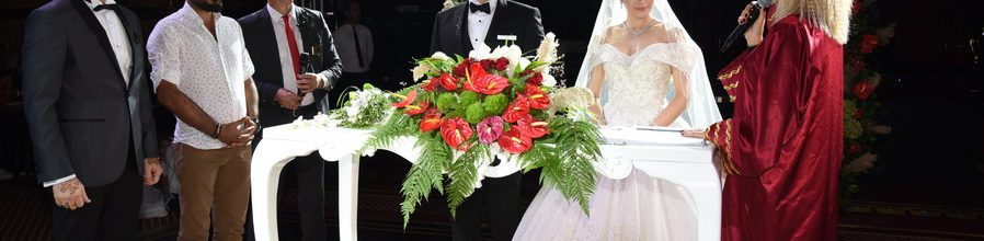 Masal diyarı konseptli düğün