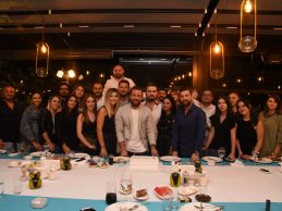 Merve Özbey ile kutlama gecesi