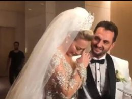 Aylin Coşkun ile Volkan Aslan evlendi