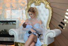 Minik Aren Azur'a bebek mevlidi