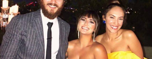 Çağatay Ulusoy ile sevgilisi Duygu Sarışın'dan mutluluk pozu