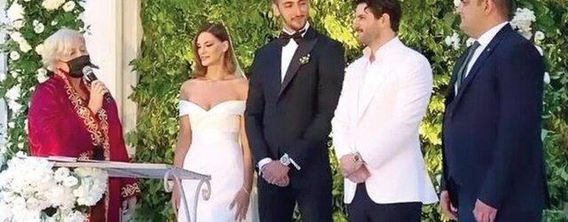İlda Abazi ile Kenan Sipahi evlendi